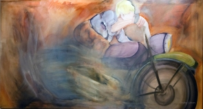 Hot Loneliness 24x48