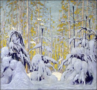 lawren_harris_winter_woods